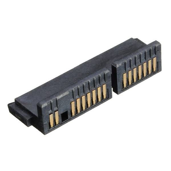 Hard Disk Drive Interposer Adapter Connector for HP EliteBook 2540P 	Specification:  	Color:Black  	Size:32x9x6mm  	 	Features: 	Brand new and high quality  	Long service life  	Hard drive adapter interposer connector for HP 2540p  	   	Package Included:  	1x Hard drive Adapter Interposer...