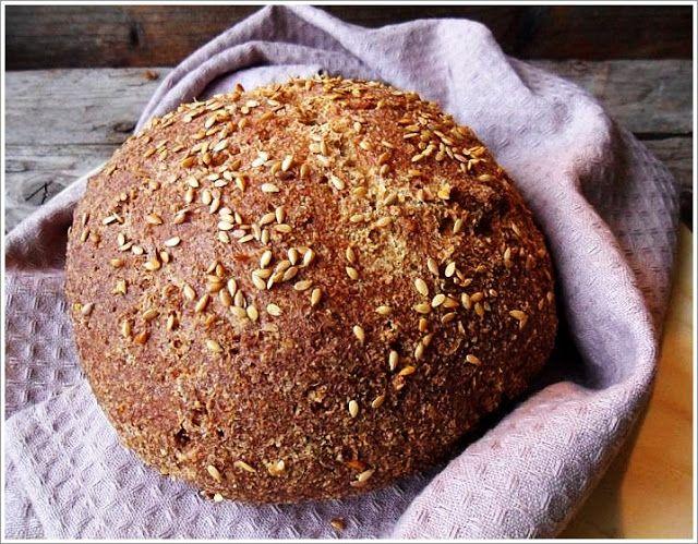 Bea's Glutenfreie Speisekammer: Glutenfreies Low Carb Brot mit Flohsamenschalen Pulver