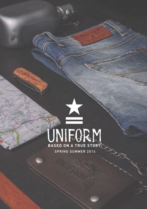 Look Book SS14 Uniform Jeans http://www.uniformjeans.it/