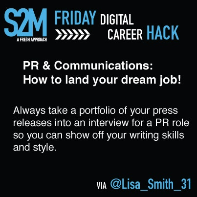 Career Hack #2. How to land your dream job in the PR & Communications industry.