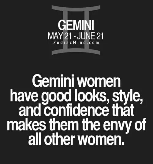 Gemini woman. Ha! I wish ~SheWolf★