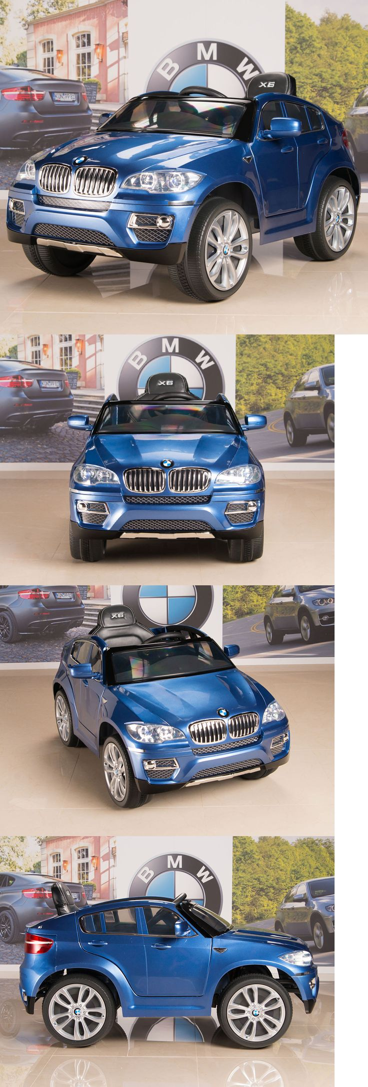 Ride on toys and accessories 145944 bmw x6 12v kids ride on car electric power