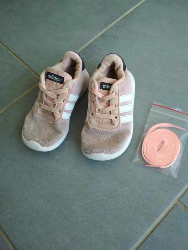 Tennis Adidas taille 26 fille | Adidas, Basket rose et ...