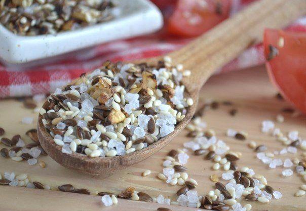 Льняная соль - полезна для здоровья!