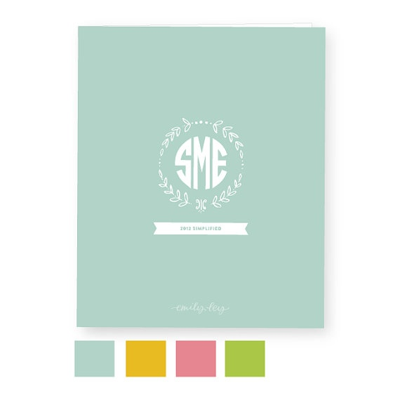 2012 Emily Ley Simplified Planner