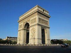 Arco Del Triunfo, París, Francia, Europa