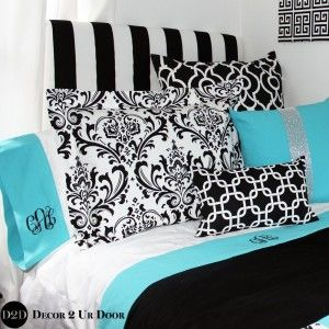 Design Your Own Banded Cotton Dorm Twin XL Sheet Set
