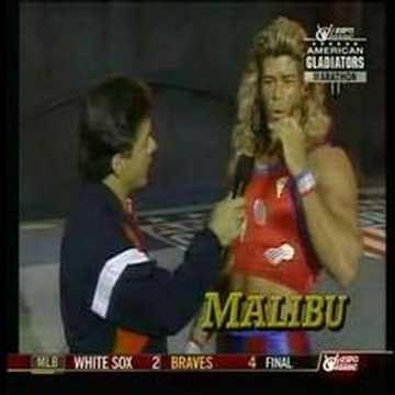 american gladiator malibu talks about his injury