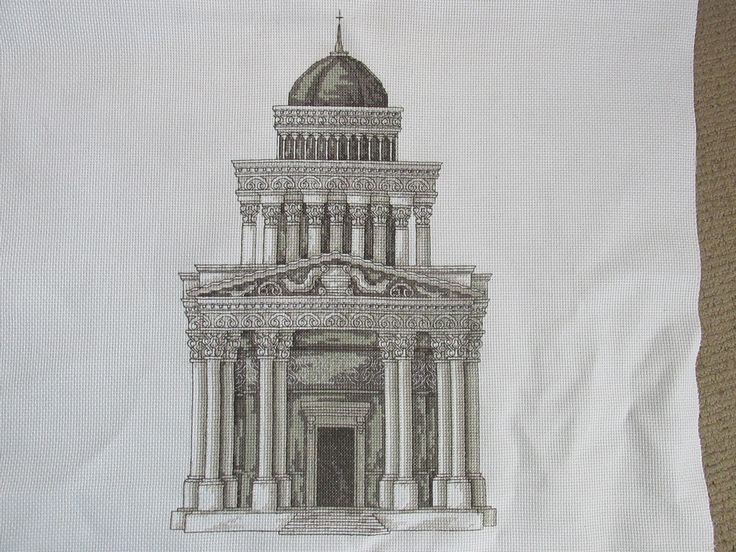Roman Building From stitch magic series