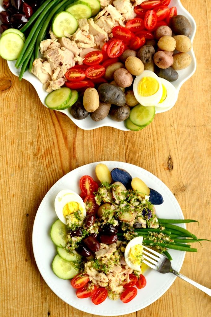 Salad Nicoise recipe: be transported to the south of France with this healthy, satisfying, gluten-free dinner #BeeHealthy #CG