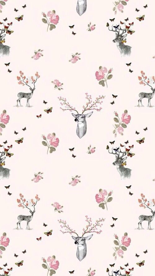 Imagem de wallpaper, deer, and background