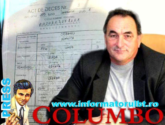 Dosar COLUMBO Crimă acoperită patru ani de primar, polițiști, doctor, procuror :http://www.informatorulbt.ro/dosar-columbo-crima-acoperita-patru-ani-de-primar-politisti-doctor-procuror/