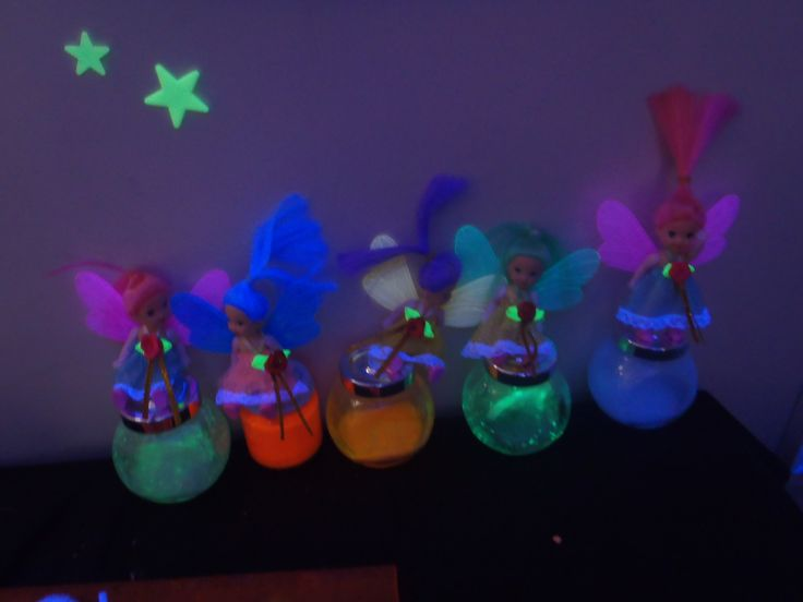 Glow fairies in the glow cave discovery area