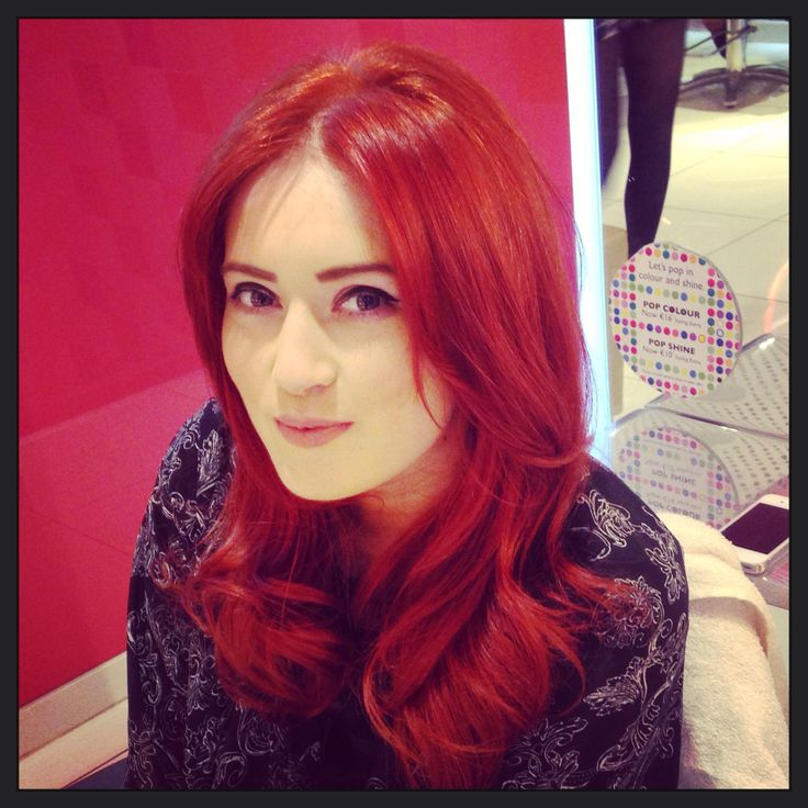 Casey's pillow proof Blowdry  #redkenready #redkenobsessed #stylemystory