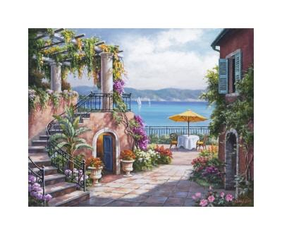 Tuscan Terrace by Sung Kim