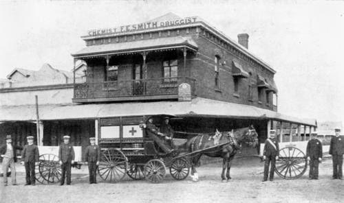 Ambulance Headquarters, Adelaide Street, Maryborough, ca. 1897