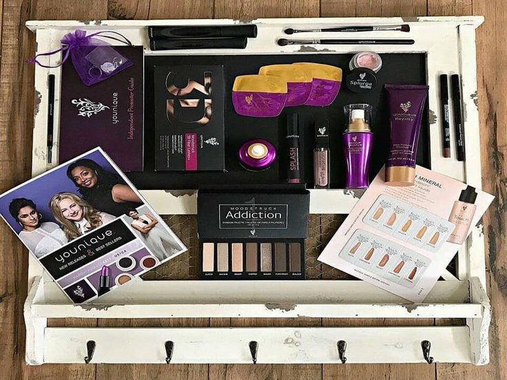 So it's $99 for this awesome makeup kit, that is a value of $360, has tons of samples ON TOP. It comes in a pretty case!  💜 No card kept on file  💜 No cancellation necessary  💜 No strings attached  💜 You will also be able to get 20% off your makeup forever and the opportunity to get it all for FREE all while making MONEY!  💜 No inventory  💜 NO fees or Autoships 💋💜 #JoinMyTeam #PresenterKit #ExclusiveCollection #Younique #LipsnLashesbyAprilLynn…