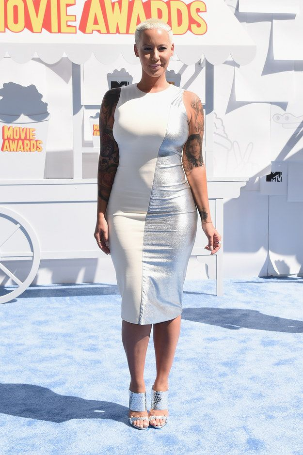 Amber Rose | All The Looks From The 2015 MTV Movie Awards