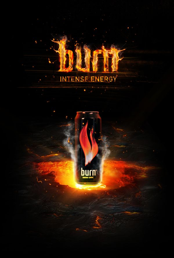 Burn - concept design by Dmitry Gelishvili, via Behance