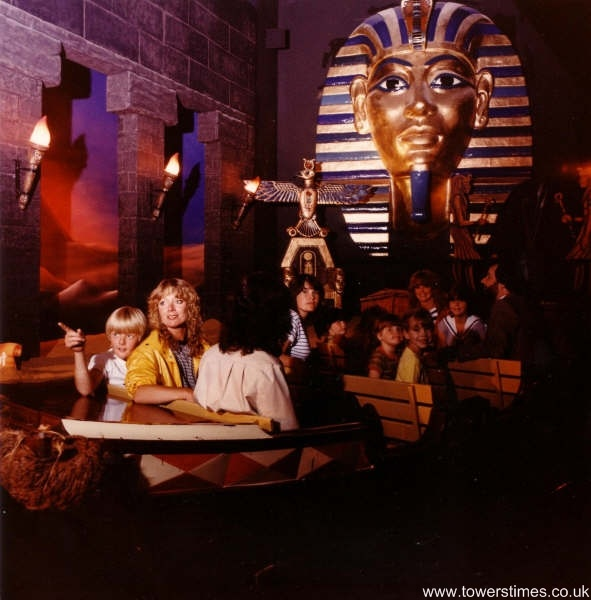 Inside The Around The World In 80 Days Attraction At Alton Towers Egypt Around The World In 80 Days Alton Tower
