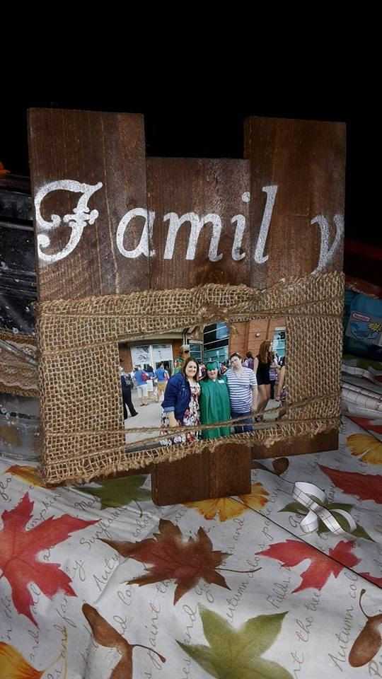 These gorgeous picture frames are the perfect way to showcase your beautiful family. This 12x13 Frame holds all different size pictures. Made