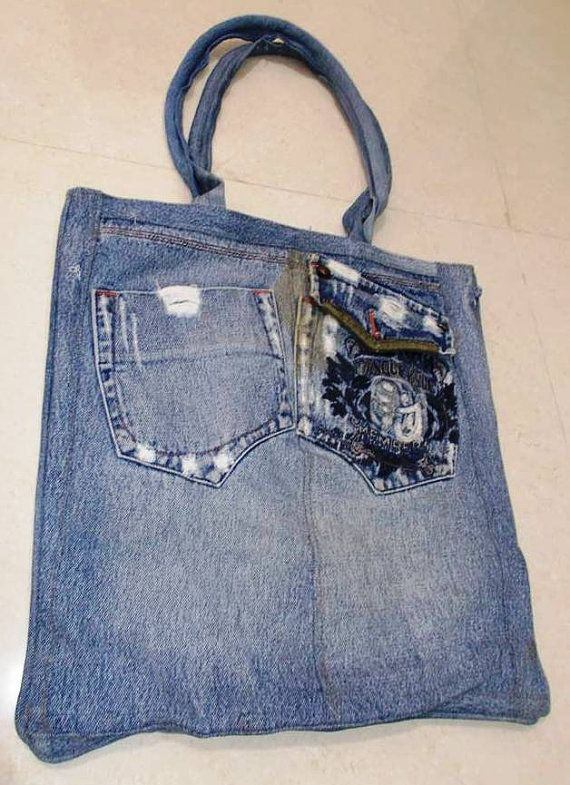 Hey, I found this really awesome Etsy listing at https://www.etsy.com/listing/205576547/recycled-denim-handbag-collection-from