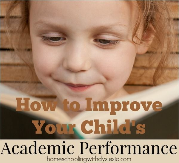 Whether your kids attend a private, public or home school, all parents want for their kids to perform academically to the best of their ability.