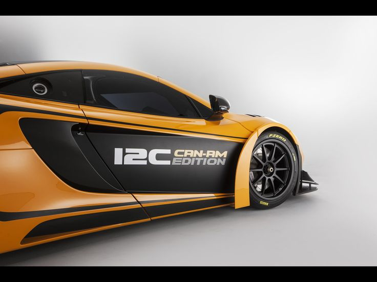Attractive 2012 McLaren 12C Can Am Edition Racing Concept   Side Graphics   1920x1440    Wallpaper