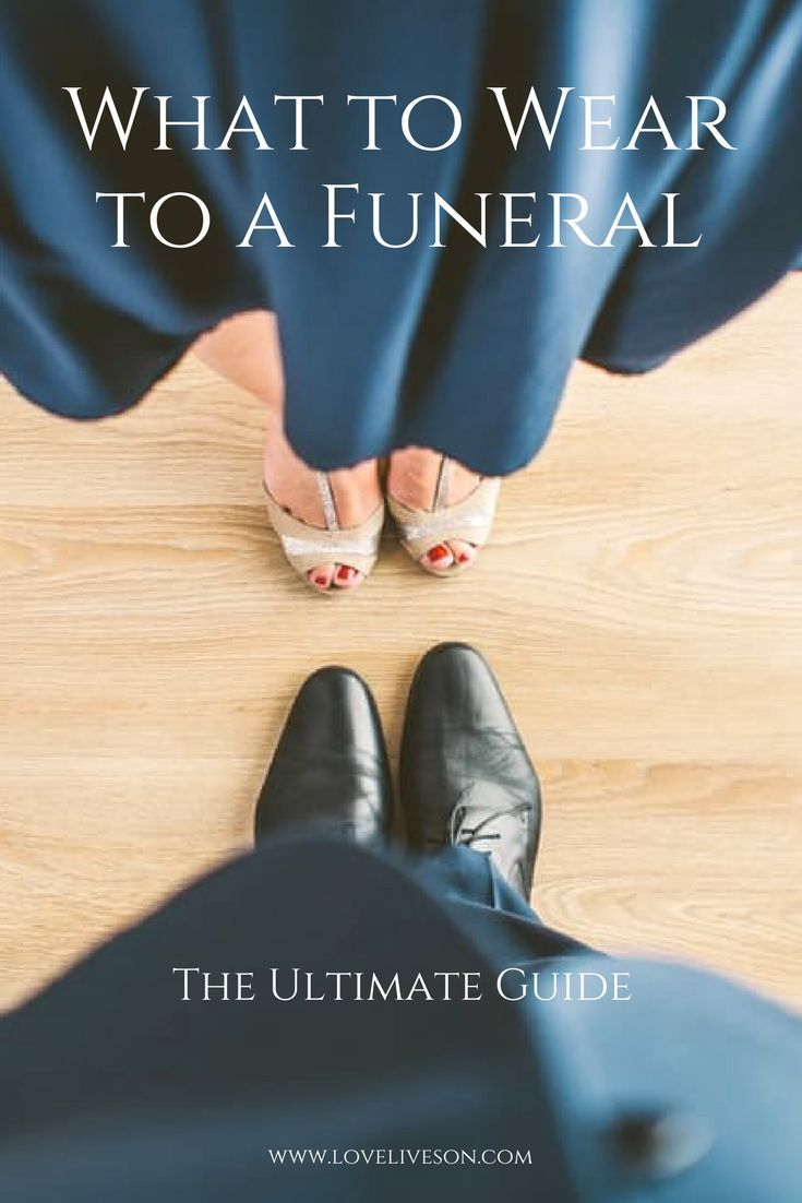 The Ultimate Guide on what to wear to a funeral. Covers essential rules for Women, Men and Kids. Use our shopping guide to buy funeral attire online today. Your one-stop-shop.