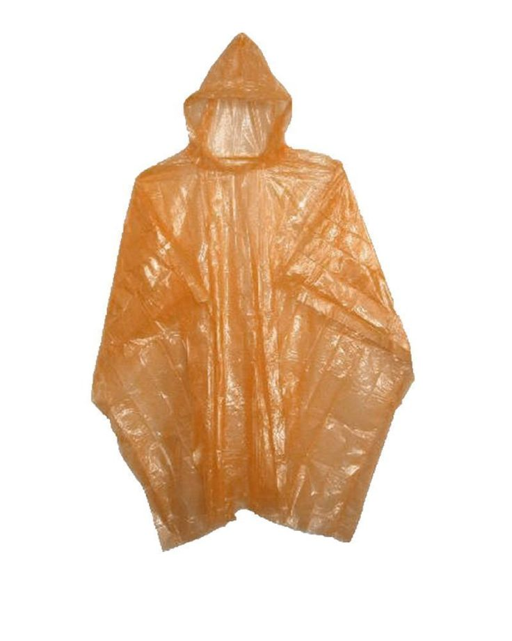 Emergency Disposable Rain Ponchos Various Colors - 5, 10, or 200 Pack -- Find out more details by clicking the image : Safety and Survival