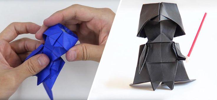 25 best ideas about origami darth vader on pinterest. Black Bedroom Furniture Sets. Home Design Ideas