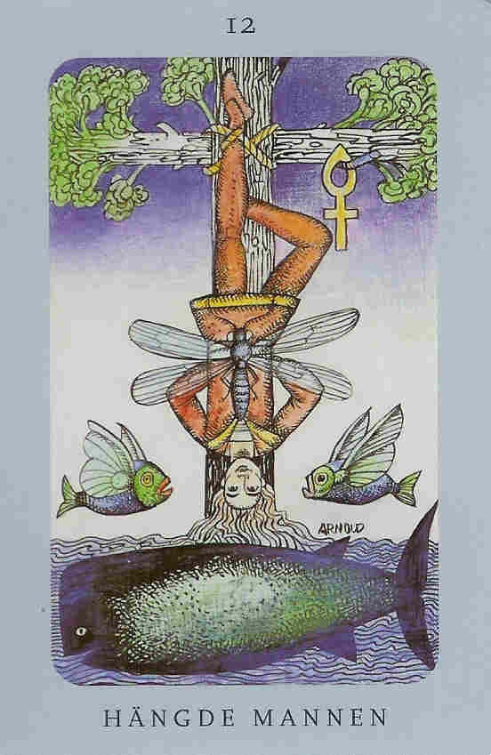The Hanged Man - Swedish Witch Tarot (hängde mannen)Hans Arnold