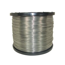 9 GA. Aluminum wire - 4000'  Part Number: AF9400  $276.40  Buy 2 for $248.76 each and save 10%- One 4000 ft spool of 9 gauge (0.114in) aluminum wire made from high grade alloy with bright, shiny smooth finish to make it highly visible to livestock & humans. Conducts electricity 4 times greater than steel. Lightweight - one third the weight of steel. Easy to re-spool, ideal for controlled grazing. Greater flexibility, can be hand twisted & tied. Compatible with any charger or accessories.
