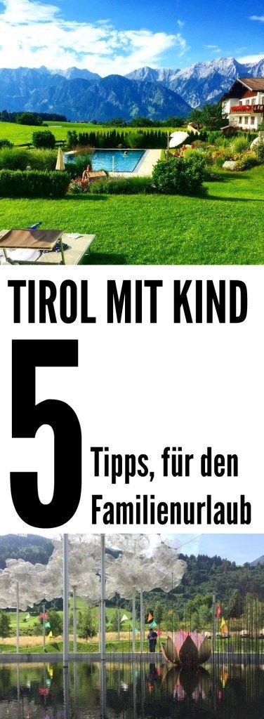 Tirol: Fünf Tipps für den Familienurlaub in Tirol. Empfehlungen und Erfahrungen für schöne Tage in Tirol mit Kind. Besuch der Swarovski-Kristallwelten als Empfehlung für Familien.
