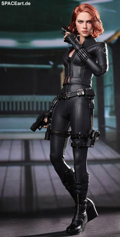 The Avengers: Black Widow - Deluxe Figur, Fertig-Modell ... http://spaceart.de/produkte/tav005.php