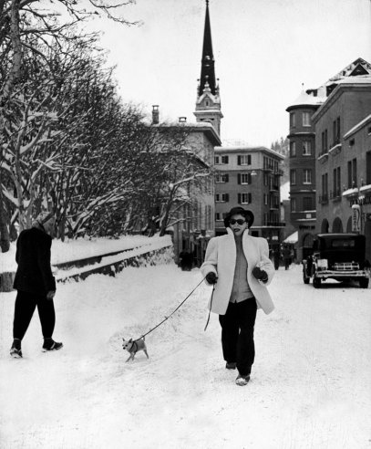 by Alfred Eisenstaedt. St. Moritz, 1947 | LIFE in Postwar St. Moritz