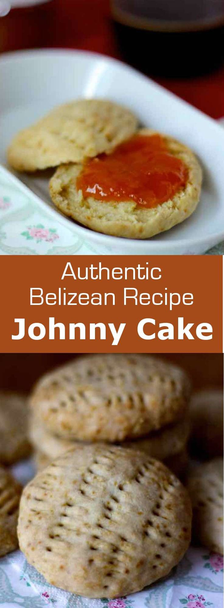 Johnny cake is to Belize what croissant is in France, the emblematic delicious soft roll of a traditional breakfast. #Belize #Caribbean #bread #196flavors