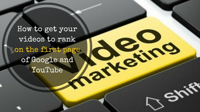 If you want to get your videos to rank on the first page of #Google and #YouTube, then this information may help:   http://brandonline.michaelkidzinski.ws/how-to-get-your-videos-to-rank-on-the-first-page-of-google-and-youtube/