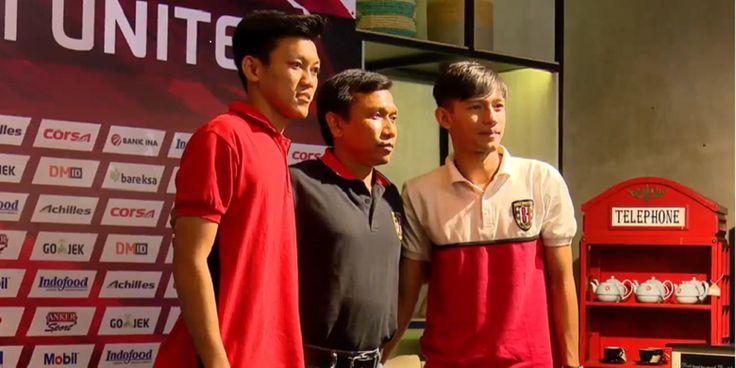 Hanis Saghara dan Feby Eka Putra Resmi Bergabung Dengan Bali United