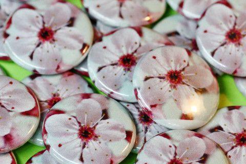 Sakura buttons  Cherry blossoms #botw #buttonoftheweek