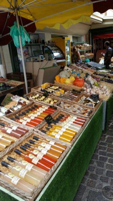Jour 13 Auf dem Markt in Ste. Maxime