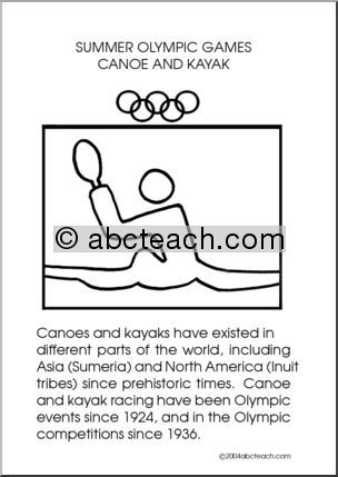 Olympic Events: Canoe and Kayak - preview 1