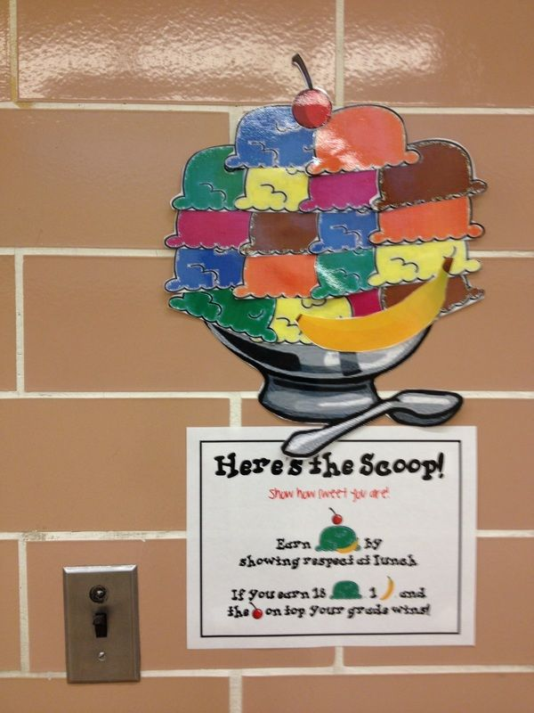 Good Behavior Competition for Cafeteria www.elementarysch...