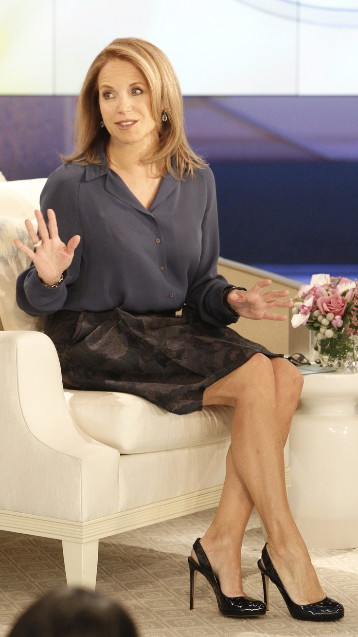 katie couric leg pictures
