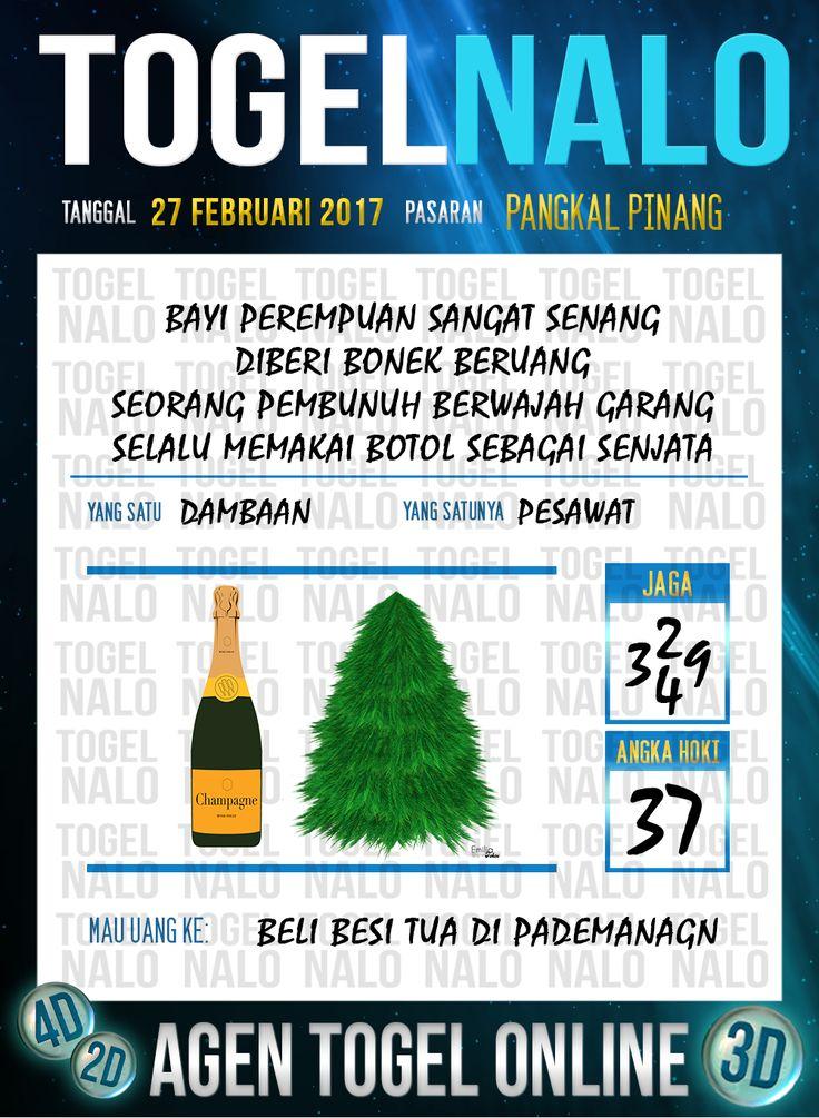 Lotre Taysen 4D Togel Wap Online Live Draw 4D TogelNalo Pangkal Pinang 27 Februari 2017