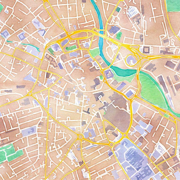 25 Best Old City Maps Images On Pinterest Antique Maps