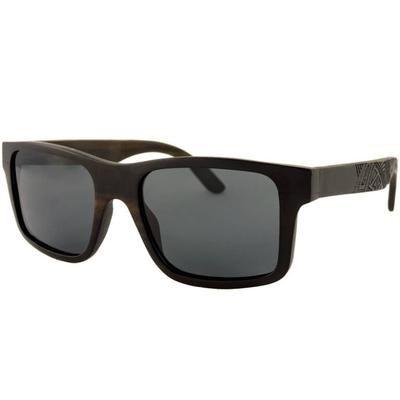 Ξύλινα Σκαλιστά Γυαλιά Ηλίου Wayfarers Stelton-BLACK-e-chap