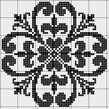 Intricate design - free cross stitch pattern