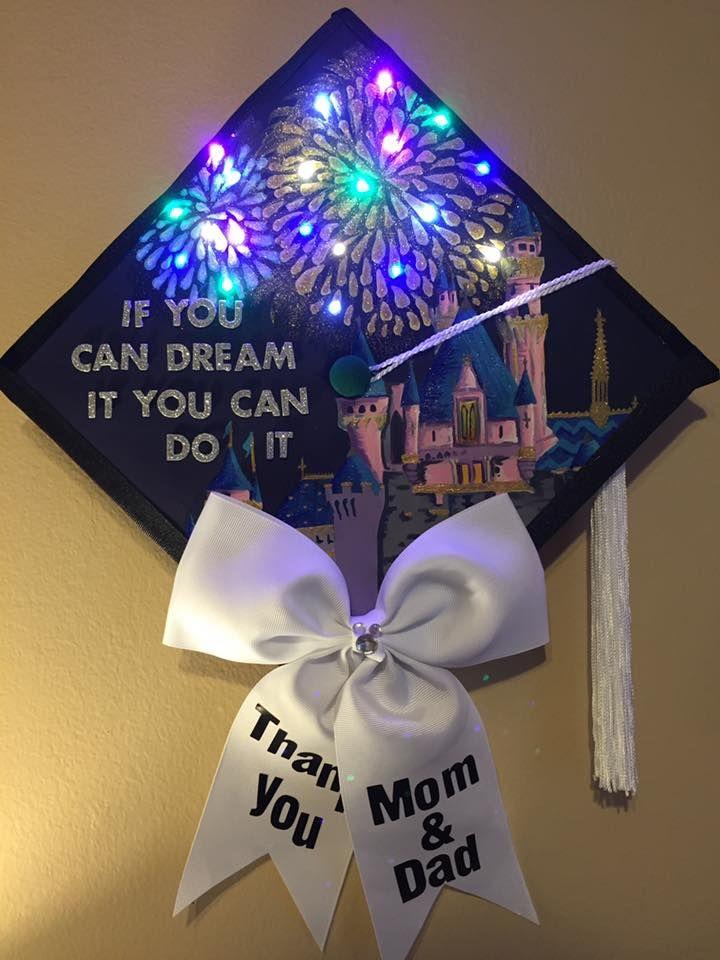 Love this Disney grad cap