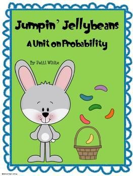 Jump into probability with this cute Spring unit!  Your students will enjoy learning the vocabulary and identifying different probability situation...